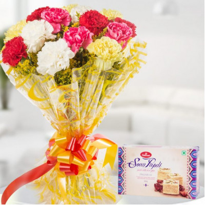 Sweetness Of Love – Carnations Bunch & Soan Papdi