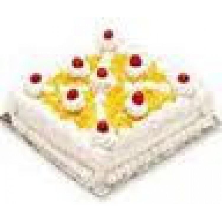 2 Kg Pineapple Cake Gurgaon Online Florist