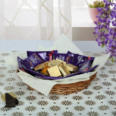 Chocolaty Wish Basket