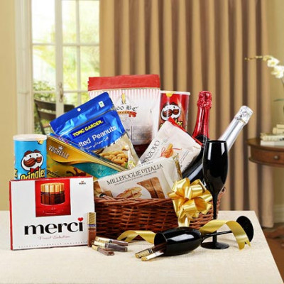 Holiday Gala Gift Basket