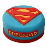 Yummy Super Dad Special Cake