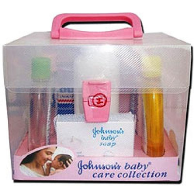 Johnson and Johnson-Baby Gift Set