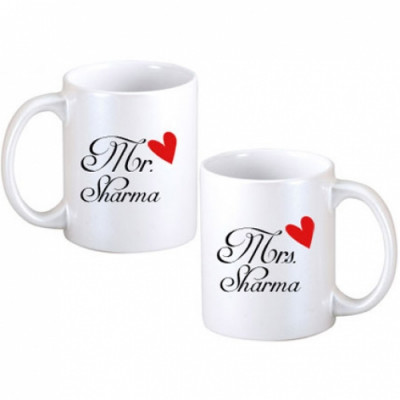 Mr and Mrs Couple Mugs