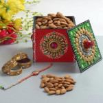 Almonds N Rakhi Wishes