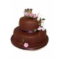 2 tier chocolate delight cake(3 kgs)