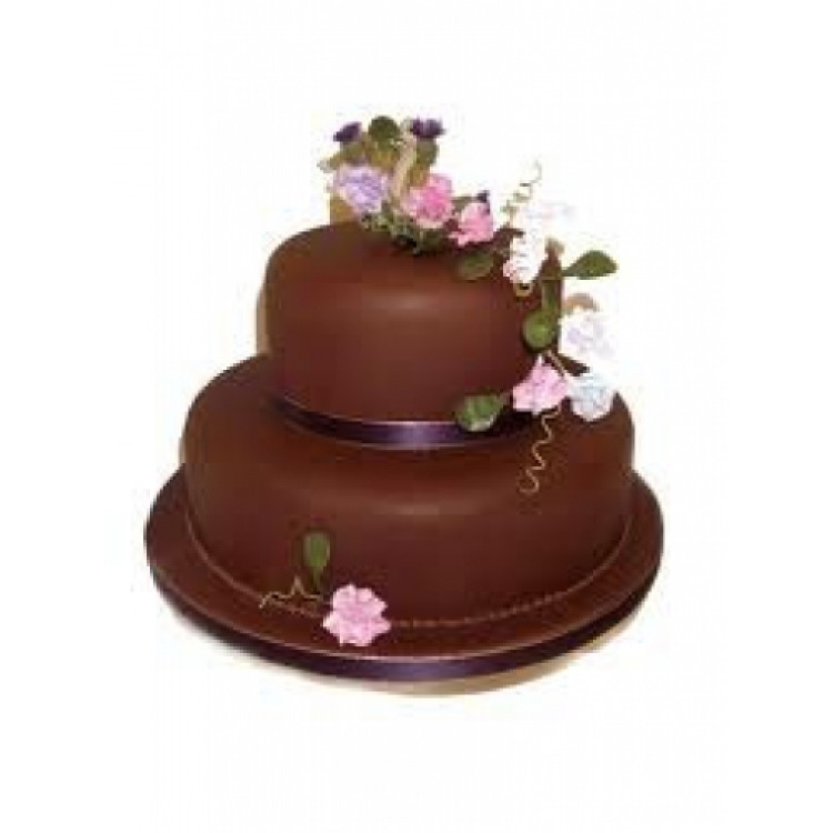 2 tier chocolate delight cake(3 kgs)